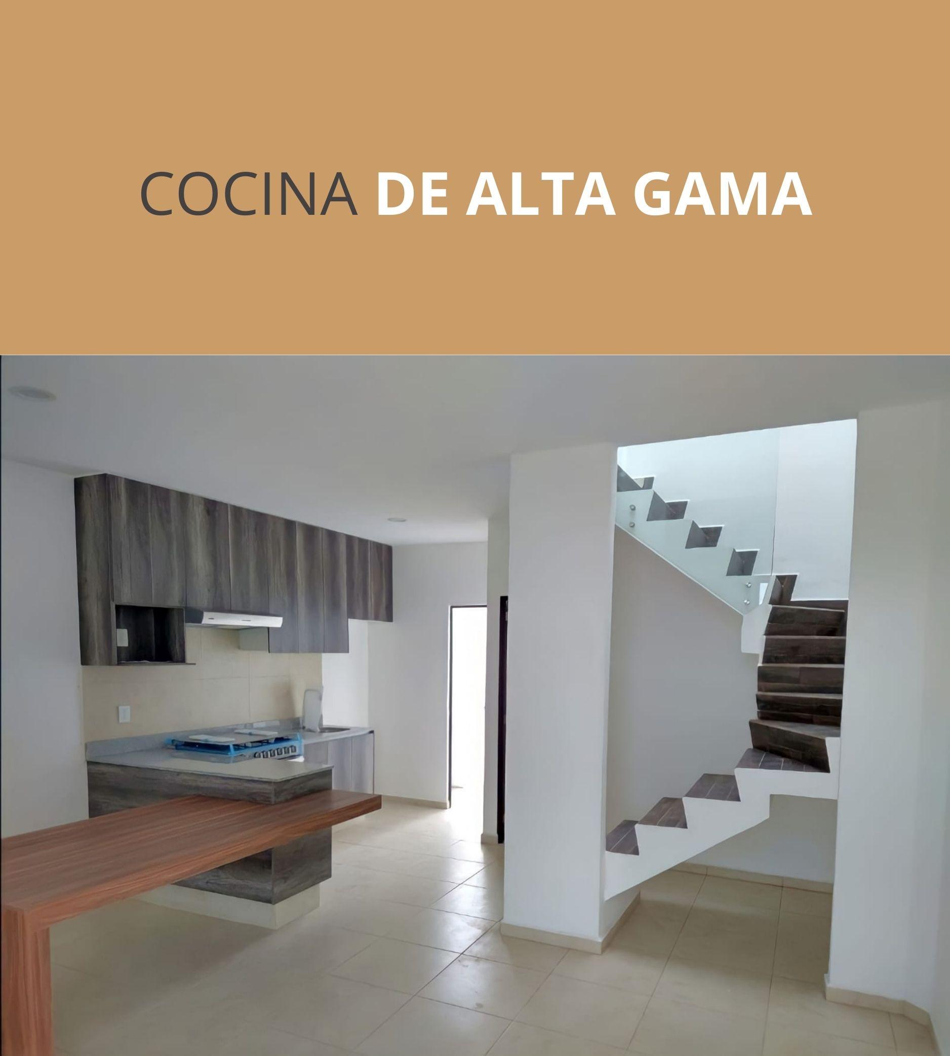 COCINA DE ALTA GAMA VENTI ABEDULES